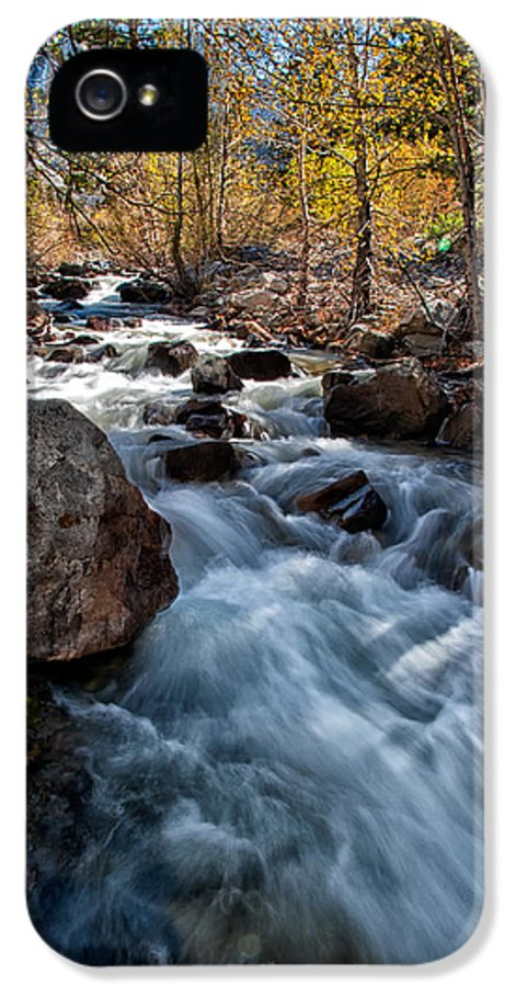 Creek IPhone 5 Case featuring the photograph Big Pine Creek by Cat Connor