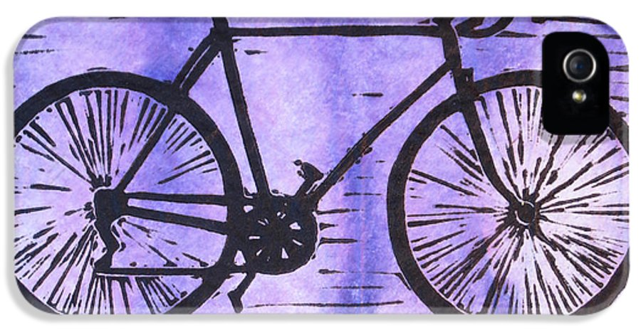 Bike IPhone 5 Case featuring the drawing Bike 8 by William Cauthern