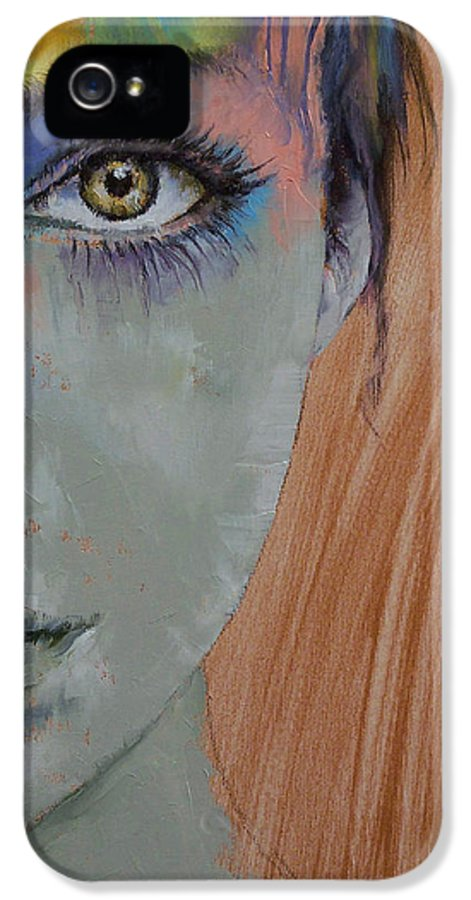 Bird Of Paradise IPhone 5 Case featuring the painting Bird Of Paradise by Michael Creese