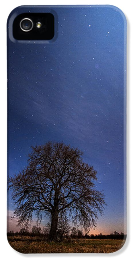 Landscape IPhone 5 Case featuring the photograph Blessed By The Moon by Davorin Mance