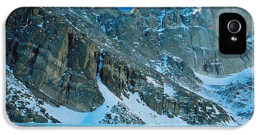 Landscapes IPhone 5 Case featuring the photograph Blue Chasm by Eric Glaser