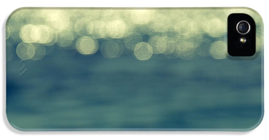 Abstract IPhone 5 Case featuring the photograph Blurred Light by Stelios Kleanthous