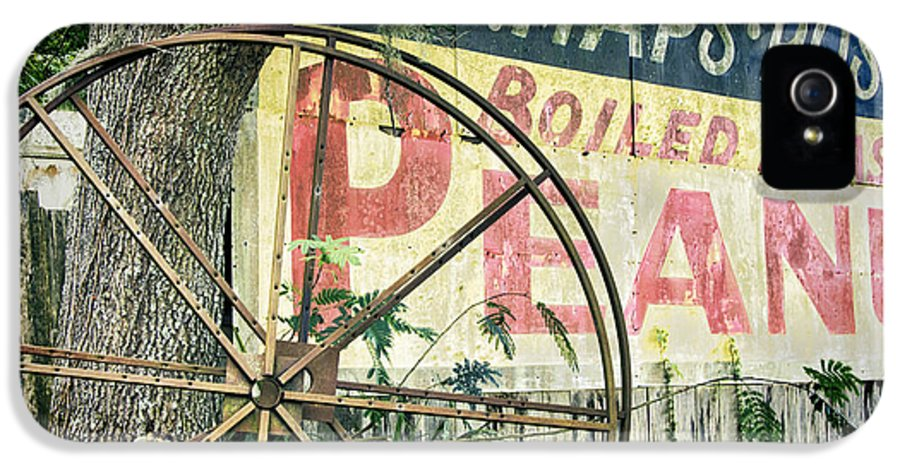 1950 IPhone 5 Case featuring the photograph Boiled Peanuts by Joan Carroll