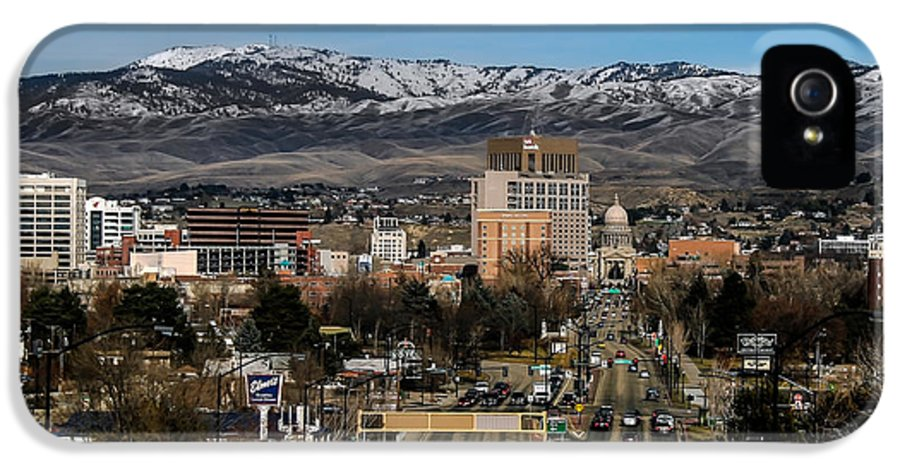 City IPhone 5 Case featuring the photograph Boise Idaho by Robert Bales
