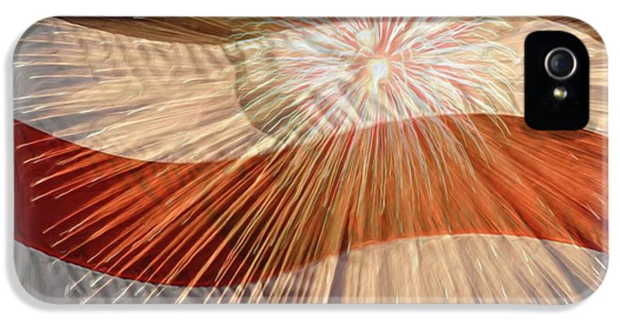 4th IPhone 5 Case featuring the photograph Bombs Bursting In Air by Heidi Smith