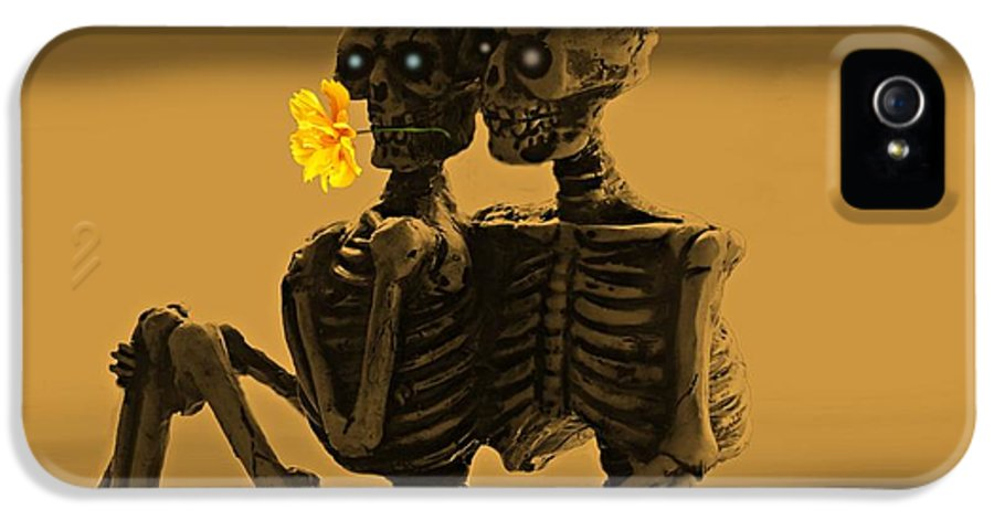 Lovers IPhone 5 Case featuring the photograph Bones In Love by David Dehner