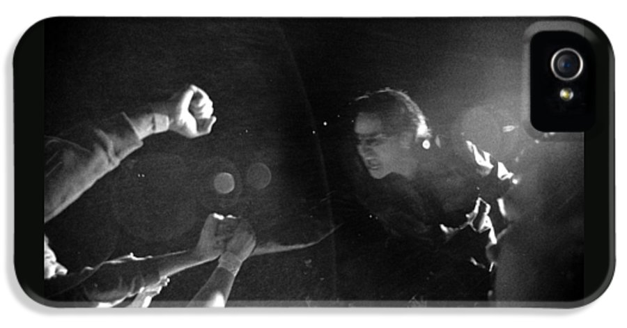 Bono IPhone 5 Case featuring the photograph Bono 053 by Timothy Bischoff