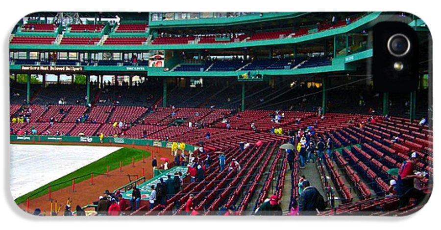 Baseball IPhone 5 Case featuring the photograph Boston 10 by Ricardo J Ruiz de Porras