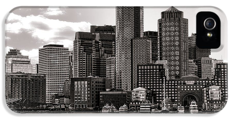Boston IPhone 5 Case featuring the photograph Boston by Olivier Le Queinec