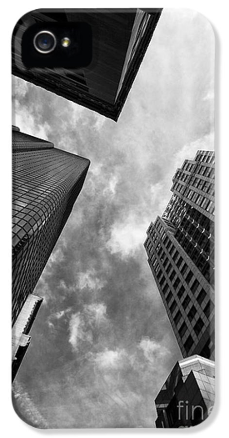 Boston Rising IPhone 5 Case featuring the photograph Boston Rising by John Rizzuto