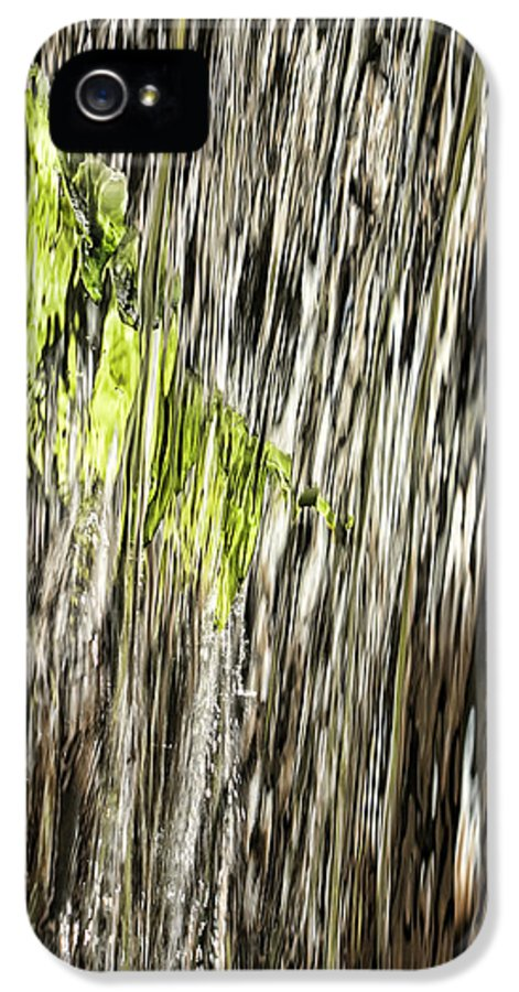 Calloway IPhone 5 Case featuring the photograph Branch In Waterfall by Gregory Scott