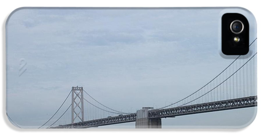 Bridge IPhone 5 Case featuring the photograph Bridging The Gap by Joshua Sunday