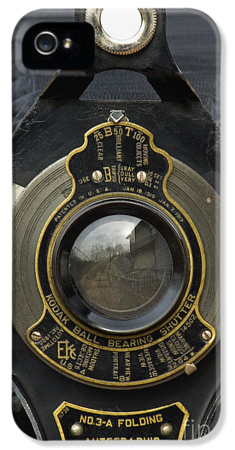 Eastman IPhone 5 Case featuring the photograph Brownie Autographic No. 3-a - D008931 by Daniel Dempster