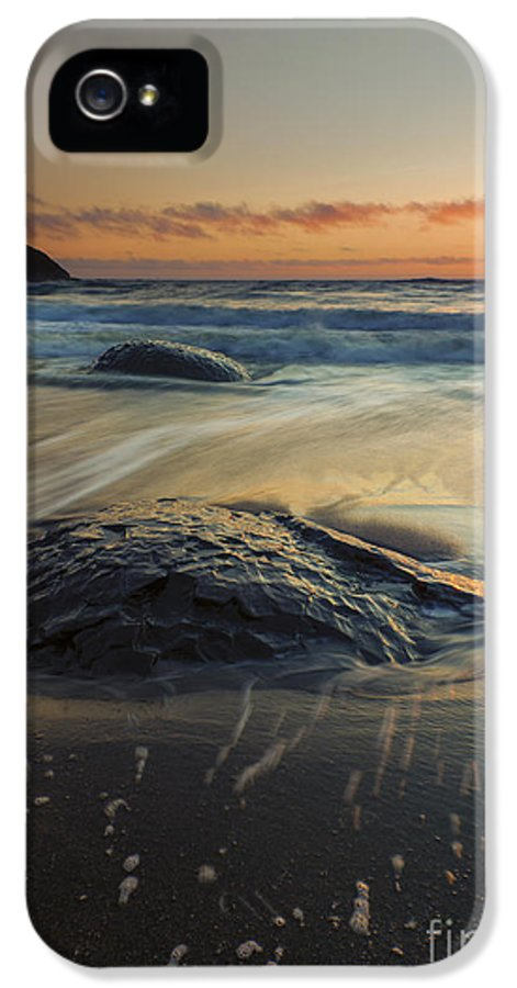 Bubbles IPhone 5 Case featuring the photograph Bubbles On The Sand by Mike Dawson