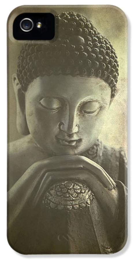 Ancient IPhone 5 Case featuring the photograph Buddha by Madeleine Forsberg
