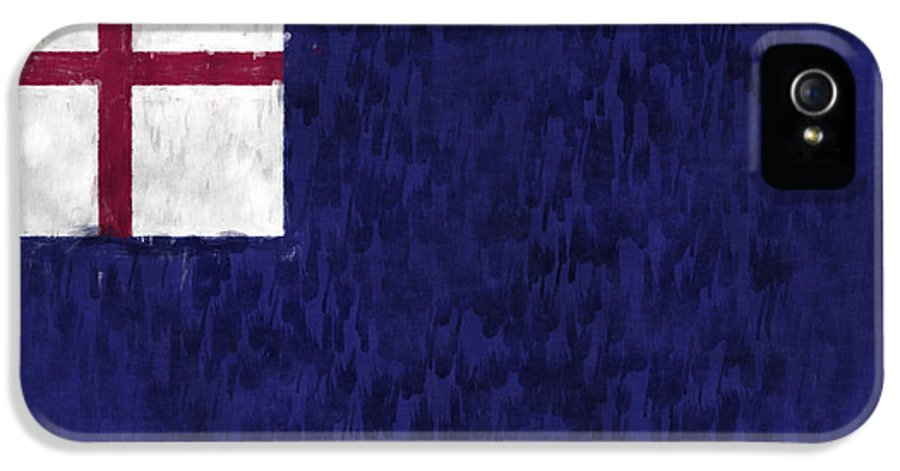American History IPhone 5 Case featuring the digital art Bunker Hill Flag by World Art Prints And Designs