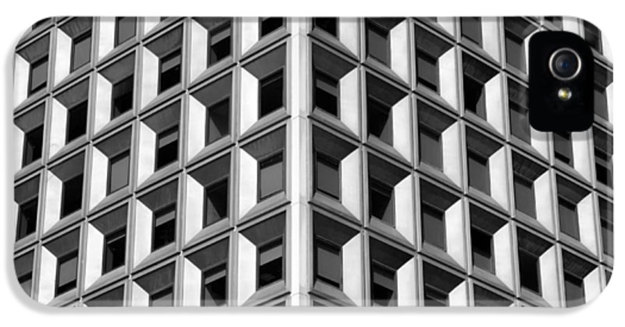 Architecture IPhone 5 Case featuring the photograph Business Building by Jaroslav Frank