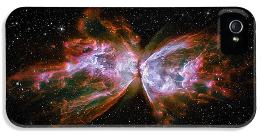 3scape IPhone 5 Case featuring the photograph Butterfly Nebula Ngc6302 by Adam Romanowicz