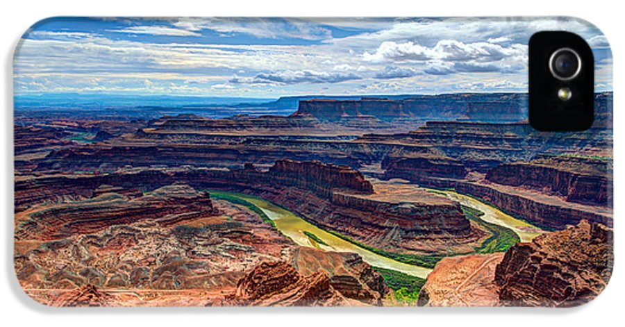American IPhone 5 Case featuring the photograph Canyon Country by Chad Dutson