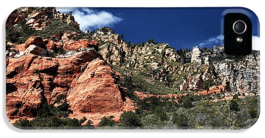 Canyon View IPhone 5 Case featuring the photograph Canyon View by John Rizzuto