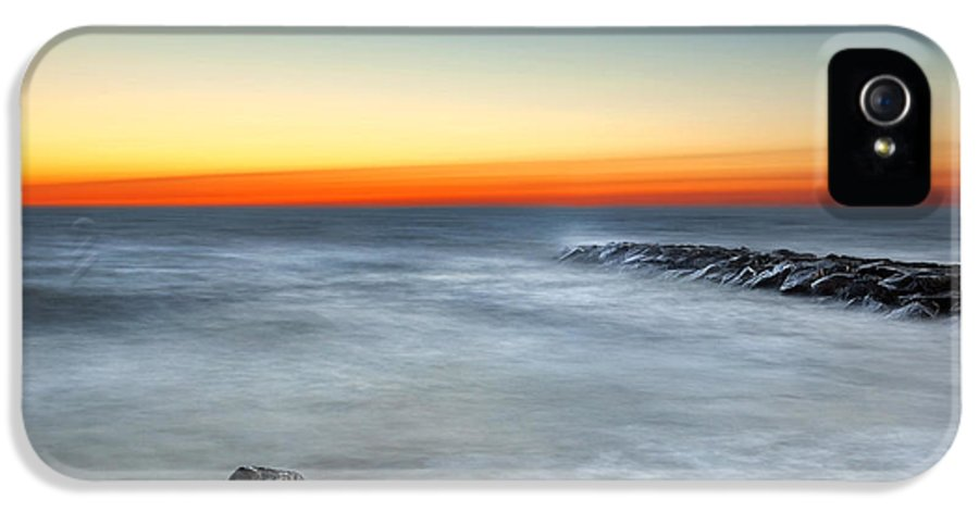 Cape Cod IPhone 5 Case featuring the photograph Cape Cod Sunrise by Bill Wakeley