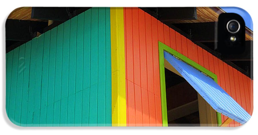 Caribbean Corner IPhone 5 Case featuring the photograph Caribbean Corner 1 by Randall Weidner