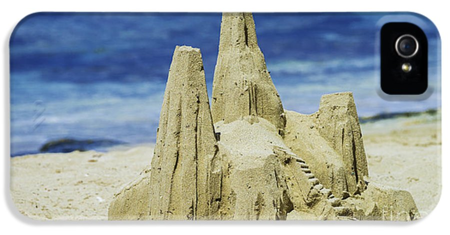 St. Croix IPhone 5 / 5s Case featuring the photograph Caribbean Sand Castle by Betty LaRue