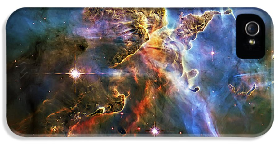 Universe IPhone 5 Case featuring the photograph Carina Nebula 6 by Jennifer Rondinelli Reilly - Fine Art Photography