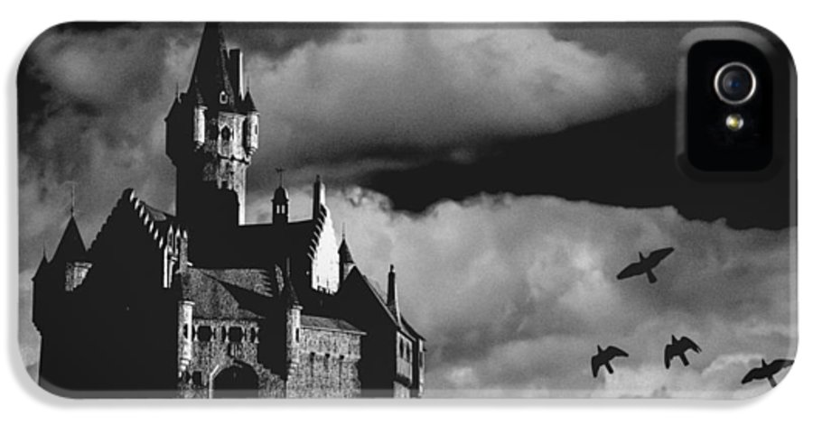 Building IPhone 5 Case featuring the photograph Castle In The Sky by Bob Orsillo