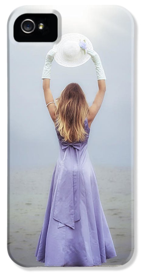 Girl IPhone 5 Case featuring the photograph Catching The Sunlight by Joana Kruse