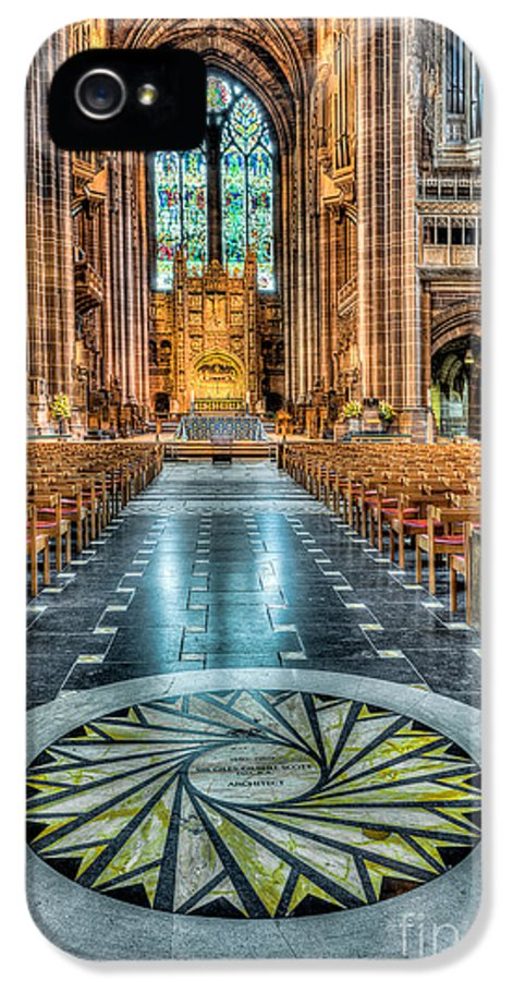 Aisle IPhone 5 Case featuring the photograph Cathedral Way by Adrian Evans