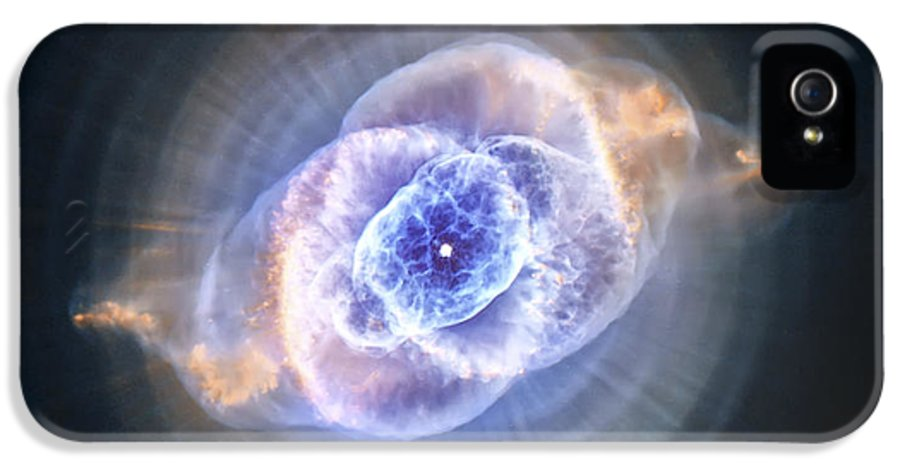 3scape Photos IPhone 5 Case featuring the photograph Cat's Eye Nebula by Adam Romanowicz