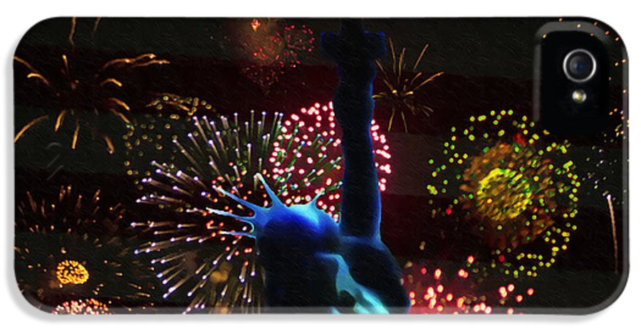 Celebrate IPhone 5 Case featuring the photograph Celebrate America by Bill Cannon