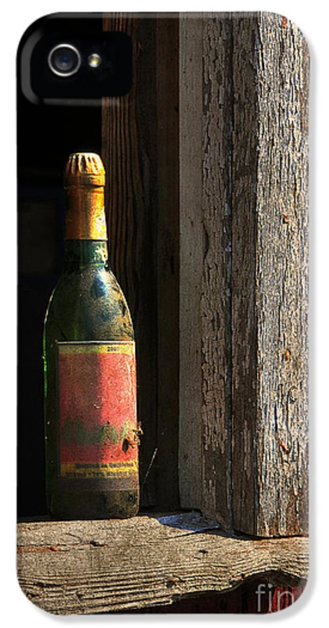 Bottle IPhone 5 Case featuring the photograph Celebrations Past by Lois Bryan