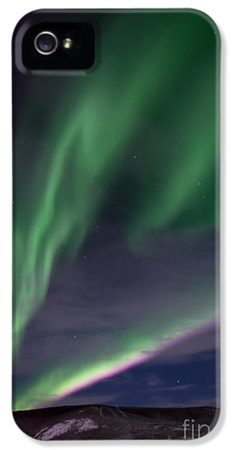 Snowy IPhone 5 Case featuring the photograph Celestial by Priska Wettstein