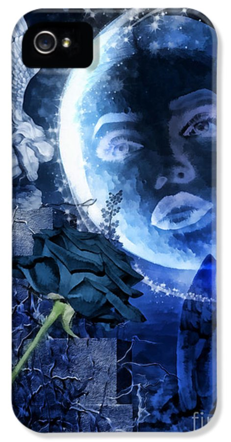 Celestine IPhone 5 Case featuring the digital art Celestine by Mo T