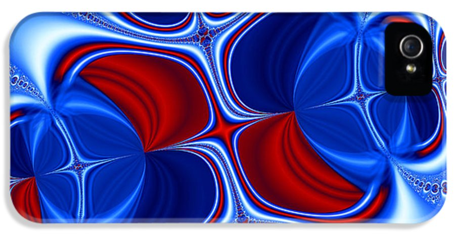 Abstract IPhone 5 Case featuring the photograph Changing Places by Ian Mitchell