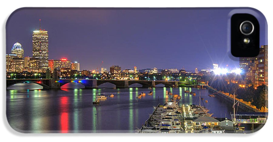 John Hancock IPhone 5 Case featuring the photograph Charles River Country Club by Joann Vitali