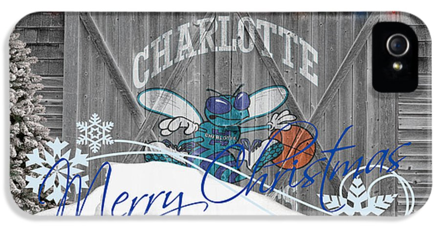 Hornets IPhone 5 Case featuring the photograph Charlotte Hornets by Joe Hamilton