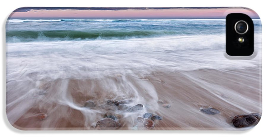 Beach IPhone 5 Case featuring the photograph Chatham Sunset by Bill Wakeley
