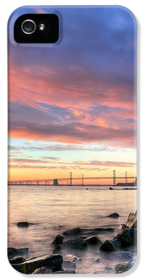 Chesapeake Bay IPhone 5 Case featuring the photograph Chesapeake Mornings by JC Findley