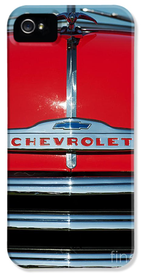 Chevrolet IPhone 5 Case featuring the photograph Chevrolet 3100 1953 Pickup by Tim Gainey