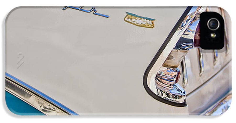 Chevrolet Bel-air IPhone 5 Case featuring the photograph Chevrolet Bel-air Taillight by Jill Reger