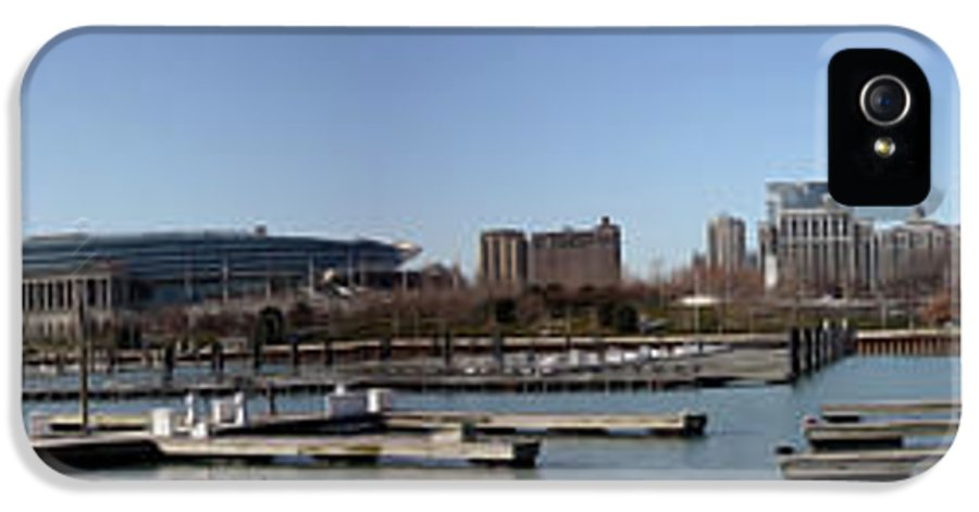 Chicago IPhone 5 Case featuring the photograph Chicago Lakefront - Soldier Field To Willis Tower by David Bearden
