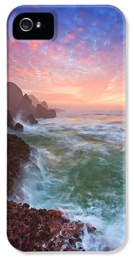 Oregon IPhone 5 Case featuring the photograph Christmas Eve Sunset by Darren White
