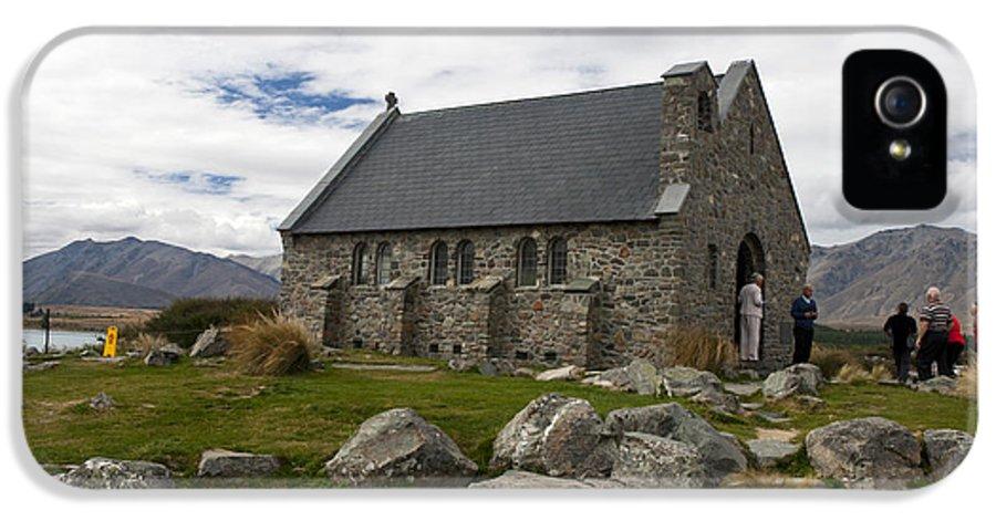 Church Of The Good Shepherd IPhone 5 Case featuring the photograph Church Of The Good Shepherd Lake Tekapo New Zealand by Jason O Watson