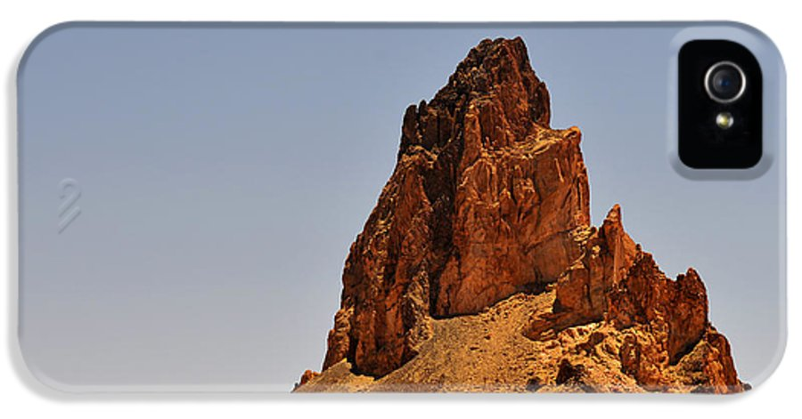 Church IPhone 5 Case featuring the photograph Church Rock Arizona - Stairway To Heaven by Christine Till