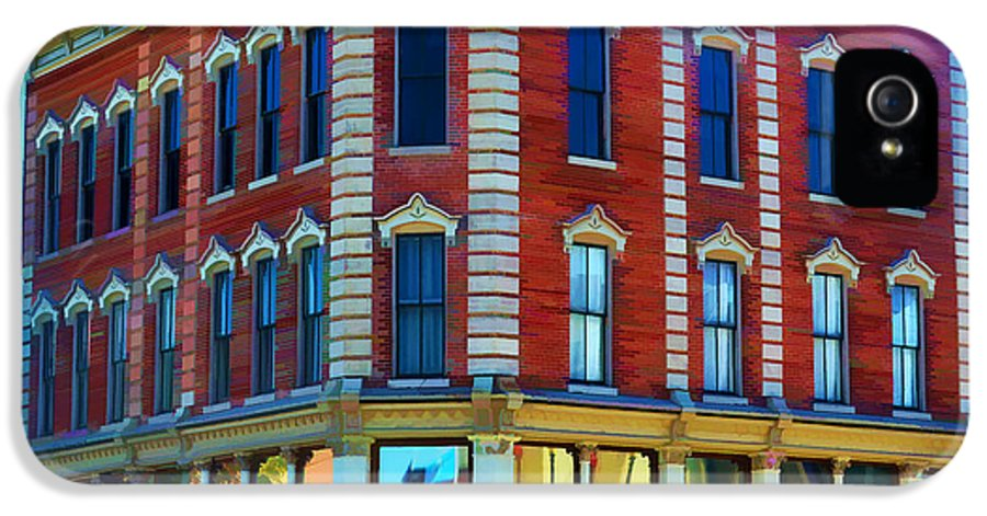 Hannibal Missouri IPhone 5 Case featuring the photograph City - Hannibal Missouri - Mark Twain- Luther Fine Art by Luther Fine Art
