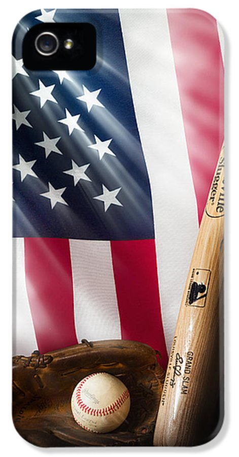 Baseball IPhone 5 Case featuring the photograph Classic Americana by Bill Wakeley