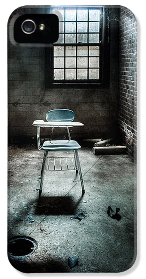 School IPhone 5 Case featuring the photograph Classroom - School - Class For One by Gary Heller